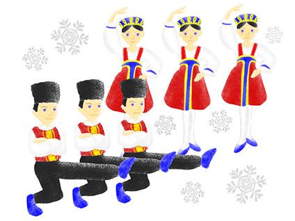 くるみ割り人形のバリエーション(ロシア)