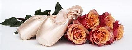 ポワントと薔薇