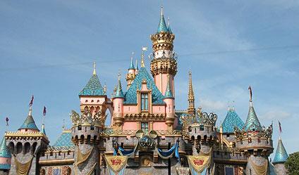 眠れる森の美女が住んでいる城