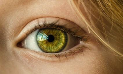 目が大きい美女