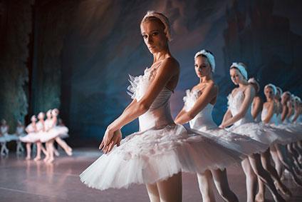 白鳥たちのコール・ド・バレエ