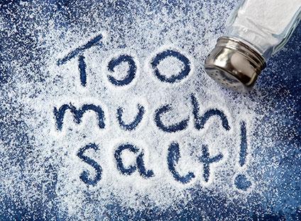 塩の摂りすぎ